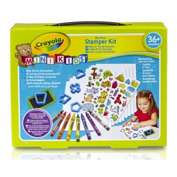 Mon premier kit de tampons Minikids Crayola