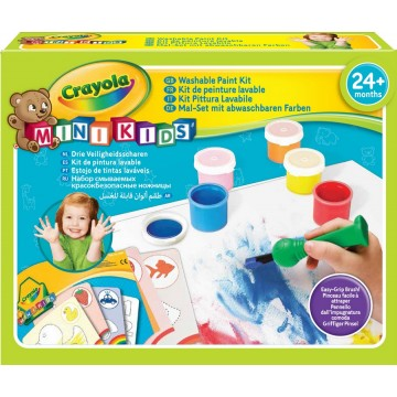 Mon premier kit de peinture Minikids Crayola