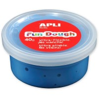 Pot de pâte à modeler Fun Dough 40g bleu Apli Kids