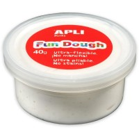Pot de pâte à modeler Fun Dough 40g blanc Apli Kids