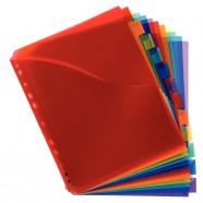 Boîte de 16 blocs en bois empilables animaux Apli Kids