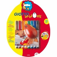 Etui de 8 feutres et son support mousse egg Be-Bé Œuf Giotto