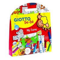 Kit de coloriage Be-Bé Ma Ferme Giotto