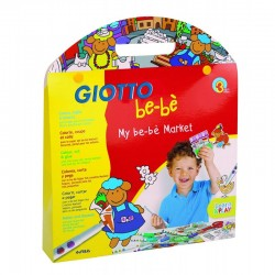Kit de coloriage Be-Bé Mon Marché Giotto