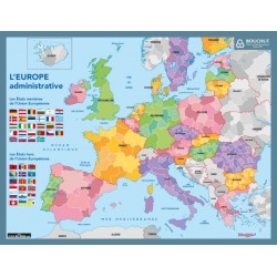 Fiche mémo souple 20,5x26,5cm Europe Bouchut