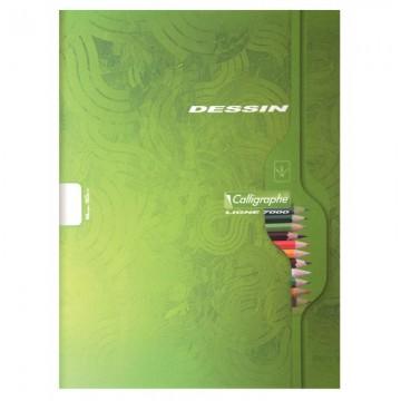 Sachet de 10 pochettes perforées A4 polypro assorties ELBA