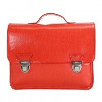 Mini sac cartable 1 compartiment 27 cm Miniséri rouge