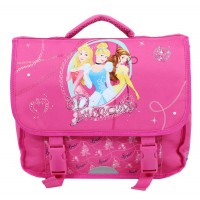 Cartable rose 1 compartiment 35 cm Pricess Disney