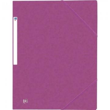 Classeur scolaire rigide A4 dos 40 mm 4 anneaux bleu Exacompta