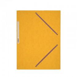 Classeur scolaire rigide A4 dos 40 mm 4 anneaux rouge Exacompta