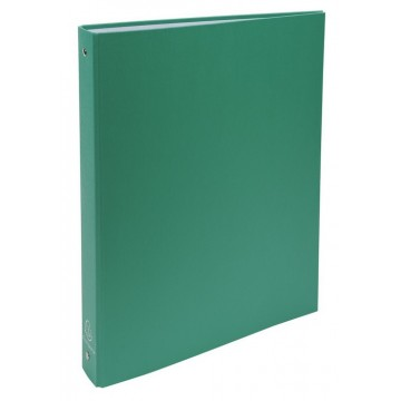 Classeur scolaire rigide A4 dos 40 mm 4 anneaux vert Exacompta