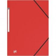 Répertoire 17x22 cm 96 pages polypro grands carreaux papier 90g CONQUERANT
