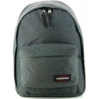 Sac à dos Eastpak Out of Office black denim gris chiné