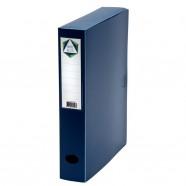Cahier polypro 24X32 cm 96 pages piqure 5x5 rose