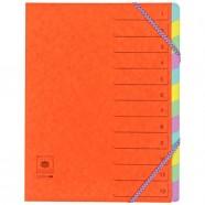Sachet de 4 cartes à gratter A4 Fluo + 1 stylet bambou Jpc