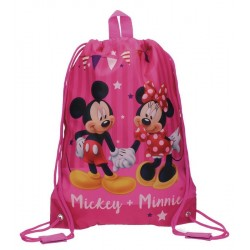 Sac de sport piscine Mickey et Minnie Party 40cm