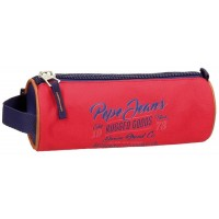 Trousse ronde 1 compartiment 23cm Pepe Jeans Jake
