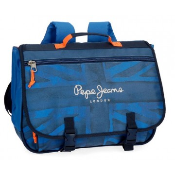 Cartable 3 compartiments Pepe Jeans Fabio 39cm
