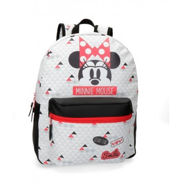 meilleures baskets f2636 1bc70 Sac à dos 1 compartiment Minnie Wow 42cm