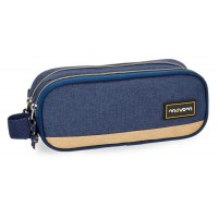Trousse rectangulaire 2 compartiments 23cm Movom Babylon