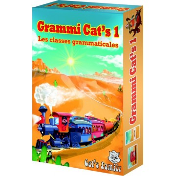 Jeu de cartes éducatif Grammi Cat's 1 - Cat's Family