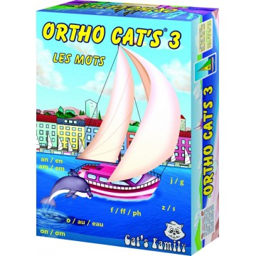 Jeu de cartes éducatif Ortho Cat's 3 - Cat's Family