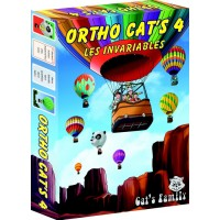 Jeu de cartes éducatif Ortho Cat's 4 Les invariables - Cat's Family