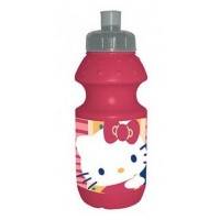 Gourde sport plastique 350ml Hello Kitty