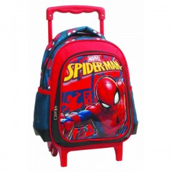 Sac à dos trolley 1 compartiment 31cm Spiderman Marvel