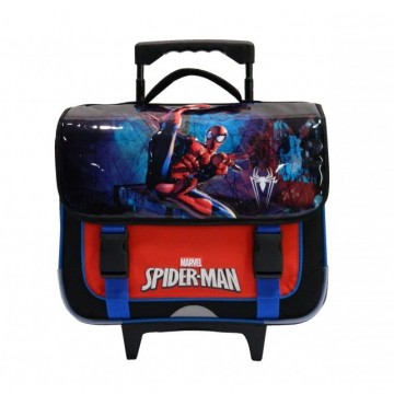 Cartable trolley 2 compartiments 38cm Spiderman Marvel