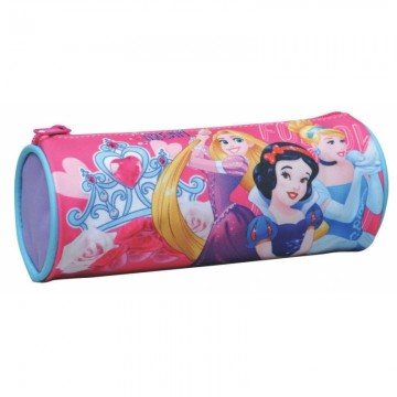 Trousse ronde 1 compartiment 20cm Princesses Disney