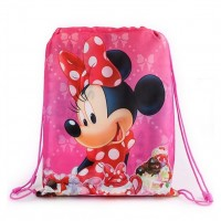 Sac de piscine rose 41cm Minnie Disney