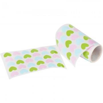 Déstockage - Lot de 10 protège-cahiers A4 rouge Elba