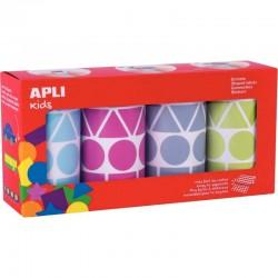 Déstockage - Lot de 10 protège-cahiers A4 orange Clairefontaine