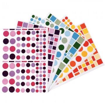 Déstockage - Lot de 10 protège-cahiers A4 noir Elba Modling