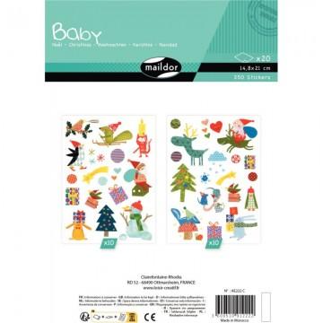 Déstockage - Lot de 10 protège-cahiers A4 vert Elba Modling