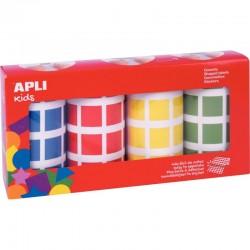 Déstockage - Lot de 10 protège-cahiers 17x22cm vert