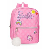 Sac à dos 1 compartiment rose 32cm Barbie Fashion