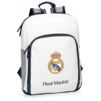 Sac à dos 1 compartiment blanc 36cm Real de Madrid