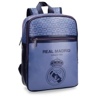 Sac à dos 1 compartiment bleu 36cm Real de Madrid
