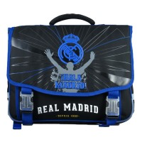 Cartable 2 compartiments 41cm Real de Madrid