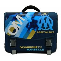 Cartable 2 compartiments 41cm Olympique de Marseille