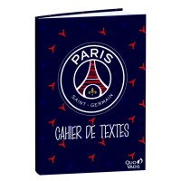 Cahier de textes 15x21cm Paris Saint-Germain