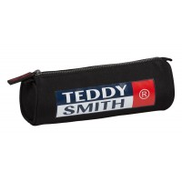 Trousse ronde 1 compartiment Teddy Smith Red 22cm