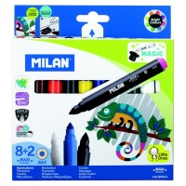 Etui de 10 feutres + 2 feutres magiques Maxi Magic Milan