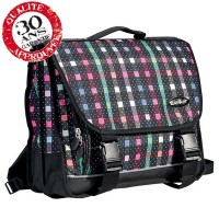 Cartable 3 compartiments 38cm Damier Walker