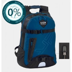 Sac à dos USB 2 compartiments 50cm bleu Bodypack