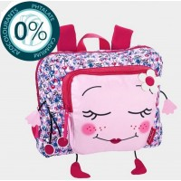 Cartable maternelle 1 compartiment 30cm Faces rose Bodypack