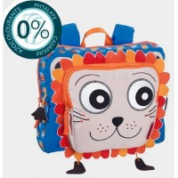 Cartable maternelle 1 compartiment 30cm Faces bleu Bodypack