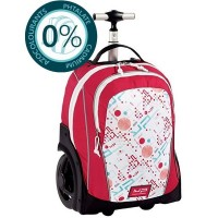Sac trolley tout terrain 2 compartiments 45cm rose Bodypack